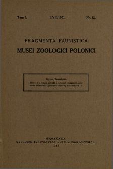 Nowe dla Polski gatunki i odmiany chrząszczy, oraz nowe stanowiska gatunków dawniej podawanych. 5 = Neue für Polen Coleopteren Arten und Varietäten, nebst neuen Fundorten früher bekannten Arten. V