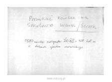 Sokołówek. Kartoteka powiatu warszawskiego w średniowieczu. Kartoteka Słownika historyczno-geograficznego Mazowsza w średniowieczu