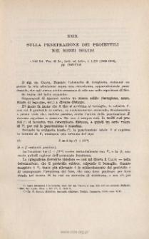 Sulla penetrazione dei proiettili nei mezzi solidi. « Atti Ist. Veneto di Sc., Lett. ed Arti », t. LXV (1905-1906), pp. 1149-1158