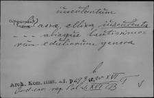 Kartoteka Słownika Łaciny Średniowiecznej; iusculentum - iva