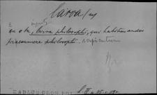 Kartoteka Słownika Łaciny Średniowiecznej; larva - legalis