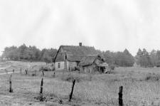 Log house, log barn