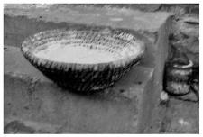 A bread proofing basket