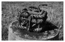 Koszyczek słomiany