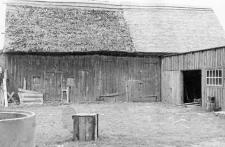Timber framed barn