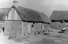 Dom mieszkalny i fragment stodoły