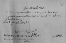 Kartoteka Słownika Łaciny Średniowiecznej; praesumo - pravitas