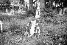 A fragment of a graveyard