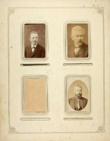 [Commemorative album of prof. Maksymilian Nowicki; card 20]