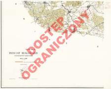 Powiat Białogard : województwo koszalińskie : skala 1:25 000