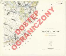 Powiat Brzeg : województwo opolskie : skala 1:25 000