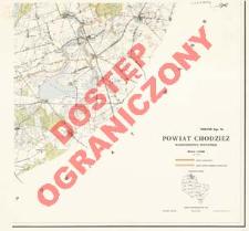 Powiat Chodzież : województwo poznańskie : skala 1:25 000