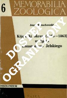 Kijowski okres (1856-1863) w życiu Konstantego Jelskiego