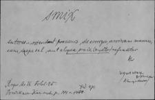 Kartoteka Słownika Łaciny Średniowiecznej; smix - solusmet