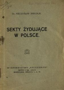Sekty żydujące w Polsce