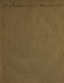 Tłomaczenie Listu Stanisława Augusta Krola Polskiego Do Fryderyka Wilhelma Krola Pruskiego Dnia 29. [!] Marca R. 1790. pisanego