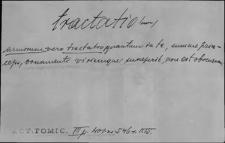 Kartoteka Słownika Łaciny Średniowiecznej; tractatio - transeo