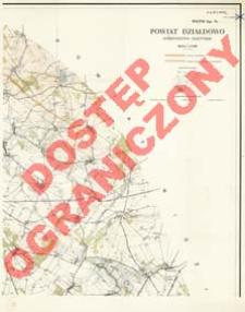 Powiat Działdowo : województwo olsztyńskie : skala 1:25 000
