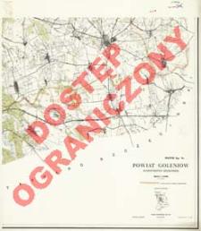 Powiat Goleniów : województwo szczecińskie : skala 1:25 000