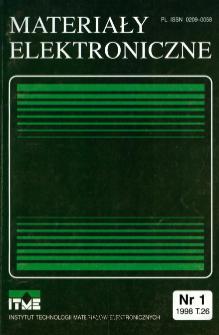 Spis treści 1998 T.26 nr 1