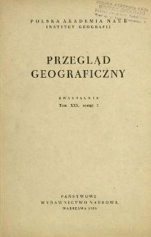 Przegląd Geograficzny T. 30 z. 2 (1958)