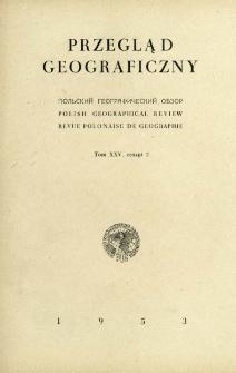Przegląd Geograficzny T. 25 z. 2 (1953)