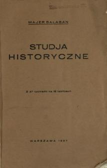 Studja historyczne