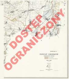 Powiat Grodków : województwo opolskie : skala 1:25 000