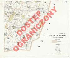 Powiat Hrubieszów : województwo lubelskie : skala 1:25 000