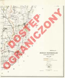 Powiat Inowrocław : województwo bydgoskie : skala 1:25 000