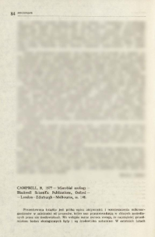 Campbell, R. 1977 - Microbial ecology - Blackwell Scientific Publications, Oxford-London-Edinburgh-Melbourne, ss. 148