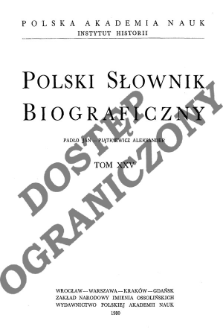 Perenc Aleksander - Piątkiewicz Aleksander
