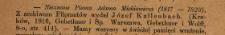 [Recenzja:] Nieznane pisma Adama Mickiewicza (1817-1823), z archiwum Filomatów wydał Józef Kallenbach [...]