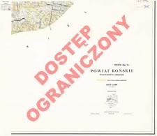 Powiat Końskie : województwo kieleckie : skala 1:25 000
