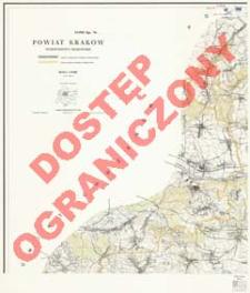 Powiat Kraków : województwo krakowskie : skala 1:25 000