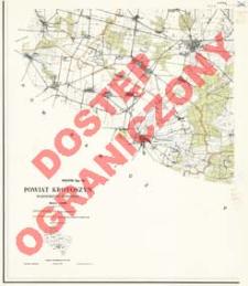 Powiat Krotoszyn : województwo poznańskie : skala 1:25 000