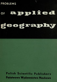 Problems of applied geography : proceedings of the Anglo-Polish Seminar, Nieborów, September 15-18. 1959