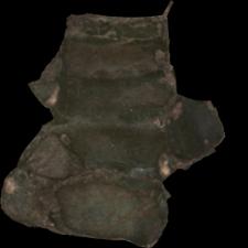 Fragment przedmiotu szklanego [3D]
