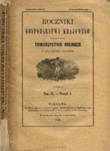 Roczniki Gospodarstwa Krajowego T. 40 z. 1 (1860)