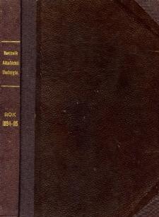 Rocznik Akademii Umiejętności w Krakowie R. 1894-95 (1895)