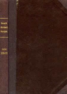Rocznik Akademii Umiejętności w Krakowie R. 1898-99 (1899)