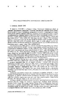 Kwartalnik Historyczny R. 98 nr 2 (1991), Kronika
