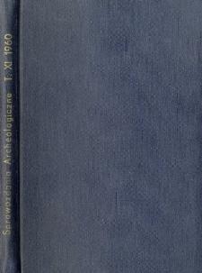Badania archeologiczne w Kołobrzegu w 1958 roku