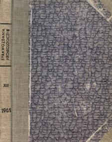Badania archeologiczne w Nakle nad Notecią w 1958 r.
