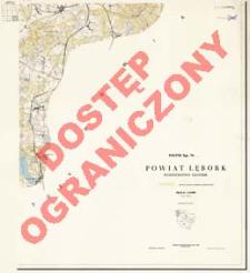 Powiat Lębork : województwo gdańskie : skala 1:25 000