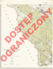 Powiat Lubsko : województwo zielonogórskie : skala 1:25 000