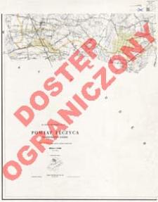 Powiat Łęczyca : województwo łódzkie : skala 1:25 000