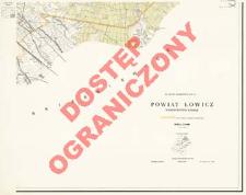 Powiat Łowicz : województwo łódzkie : skala 1:25 000