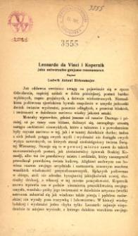 Leonardo da Vinci i Kopernik jako universalne genjusze renesansowe
