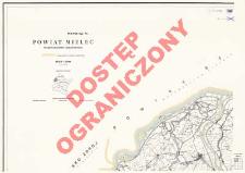 Powiat Mielec : województwo rzeszowskie : skala 1:25 000
